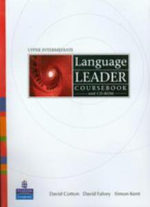 Language Leader Upper Intermediate - Coursebook Plus Cd-rom Plus Mylanguageleaderlab Access Code [Ksi��ka Ucznia Plus Cd-rom Plus Kod Dost�pu Do My Language Leader Lab] - 2839265755