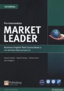 Market Leader Pre-intermediate Flexi Course Book 2+cd +dvd - 2846050042