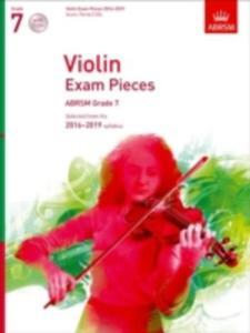 Violin Exam Pieces 2016 - 2019, Abrsm Grade 7, Score, Part & 2 Cds - 2860401815