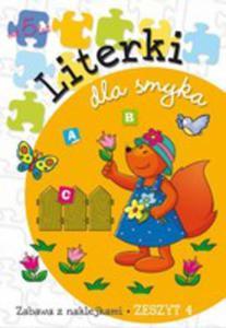 Literki Dla Smyka Zeszyt 4 - 2839275209