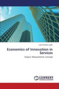 Economics Of Innovation In Services - 2860677720