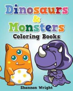 Dinosaurs & Monsters Coloring Book - 2852923152