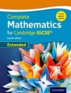 Complete Mathematics For Cambridge Igcse Student Book - 2857233853