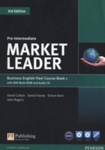 Market Leader Pre-intermediate Flexi Course Book 1 +cd +dvd - 2840437658
