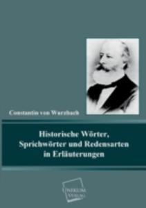 Historische Worter, Sprichworter Und Redensarten In Erlauterungen - 2857210698