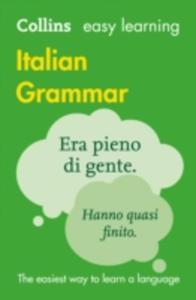 Easy Learning Italian Grammar - 2848190076