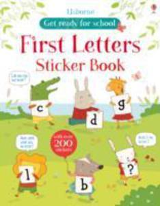 Alphabet Sticker Book - 2839965972