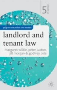 Landlord And Tenant Law - 2852827652