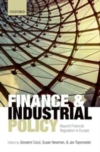 Finance And Industrial Policy - 2849516318