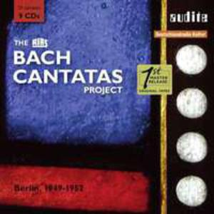 The Rias Bach Cantatas Pr - 2839328199