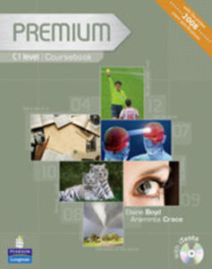 Premium C1 - Coursebook Plus Exam Reviser Plus Itest Cd-rom [Książka Ucznia Plus Exam Reviser Plus Itest Cd-rom] - 2841687765