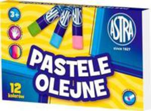 Pastele Olejne 12 Kolorów Astra - 2856609058