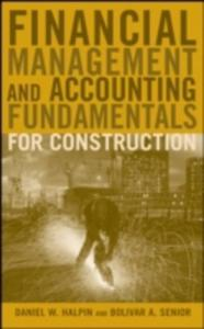 Financial Management And Accounting Fundamentals For Construction - 2860157319