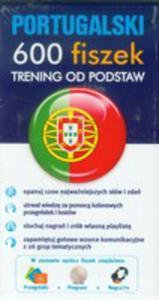Portugalski. 600 Fiszek. Trening Od Podstaw - 2839321987