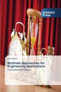 Multirate Approaches For Engineering Applications - 2857255120