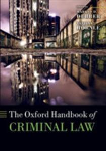 The Oxford Handbook Of Criminal Law - 2846072694