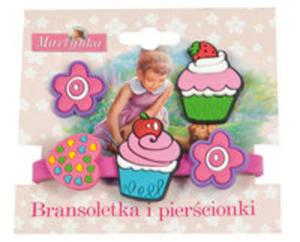 Martynka Bransoletka I Pierścionki 2 (Z Babeczką Truskawkową) - 2847170512