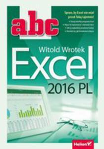 Abc Excel 2016 Pl - 2840299062