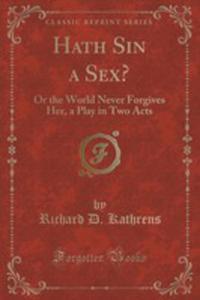 Hath Sin A Sex? - 2852946257