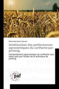 Amélioration Des Performances Agronomiques Du Carthame Par Priming - 2860720868