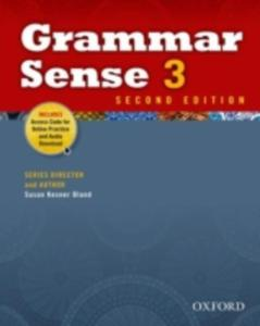 Grammar Sense: 3: Student Book With Online Practice Access Code Card - 2846026919