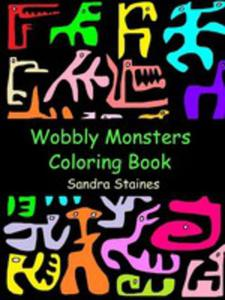 Wobbly Monsters Coloring Book - 2853958220