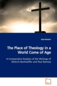 The Place Of Theology In A World Come Of Age - 2857062343