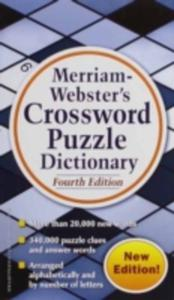 Merriam Webster's Crossword Puzzle Dictionary - 2840249430