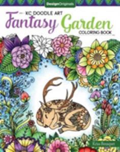 Kc Doodle Art Fantasy Garden Coloring Book - 2860487065