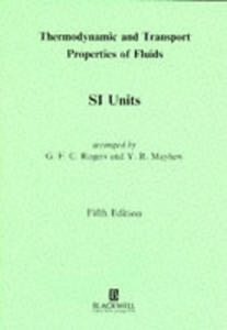 Thermodynamic And Transport Properties Of Fluids - 2848179871