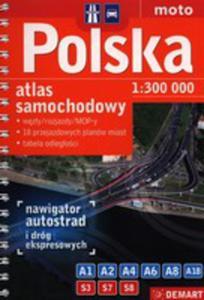 Atlas Samochodowy Polska 1: 300 000 - 2849895792