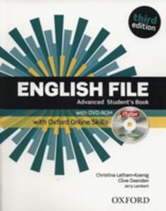 English File Advanced Student's Book +dvd + Oxford Online Skills - 2846956753