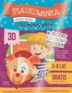 Piaskowanka 3d - Balonowy Pies - 2840347043