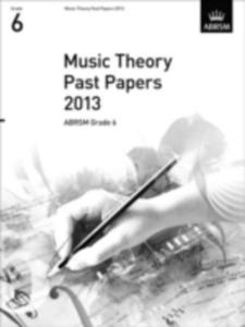 Music Theory Past Papers 2013, Abrsm Grade 6 - 2849506372