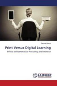 Print Versus Digital Learning - 2860649346