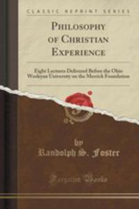 Philosophy Of Christian Experience - 2852951424