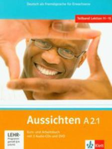 Aussichten A2.1 Kurs- Und Arbeitsbuch Mit 2 Audio-cds Und Dvd - 2839276256
