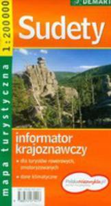 Sudety Mapa Tyrystyczna - 2839276992