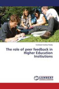 The Role Of Peer Feedback In Higher Education Institutions In Fiji - 2857252899