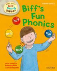 Oxford Reading Tree Read With Biff, Chip And Kipper: First Stories: Level 1: Biff's Fun Phonics - 2843688821