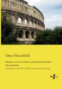Beitrage Zur Alten Geschichte Und Griechisch - Romischen Altertumskunde - 2857213177