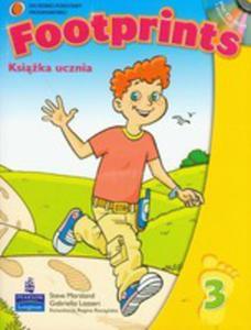 Footprints 3 - Podręcznik Plus Cd-rom [Książka Ucznia Plus Cd-rom] - 2839265862