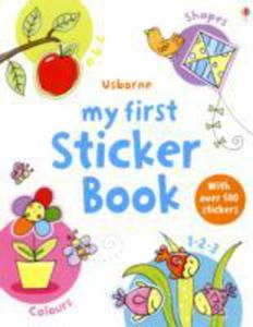 My First Sticker Book - 2840078189
