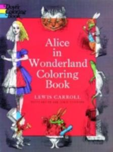 Alice In Wonderland Coloring Book - 2845343011