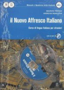 Nuovo Affresco Italiano A1 Podręcznik + Cd - 2842401316