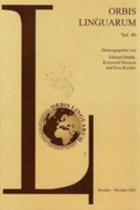 Orbis Linguarum Vol. 40 - 2840083220