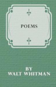 Poems By Walt Whitman - 2853033336