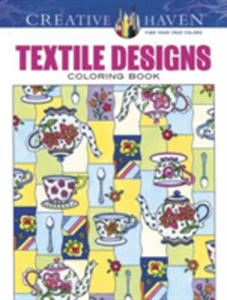 Creative Haven Textile Designs Coloring Book - 2840430076