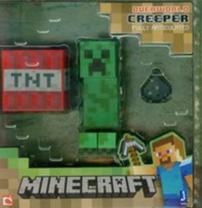 Minecraft Figurka Creeper + Akcesoria - 2846031264
