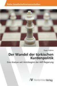 Der Wandel Der Türkischen Kurdenpolitik - 2857260248